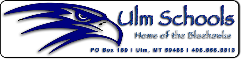 Ulm Schools - Home of the Bluehawks